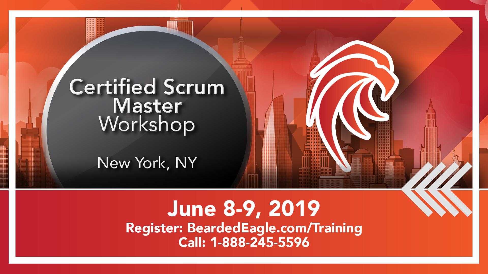 Weekend Certified ScrumMaster® – New York