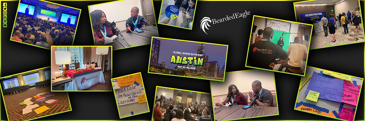 BeardedEagle Takes Austin at Global Scrum Gathering 2019