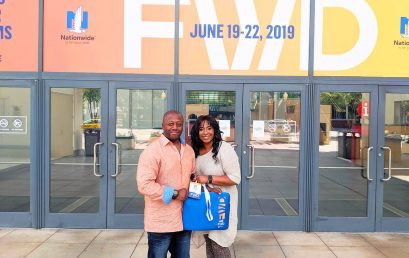 BeardedEagle Co-Founders Hit the Ground Running at the Black Enterprise FWD Conference, in Charlotte, NC
